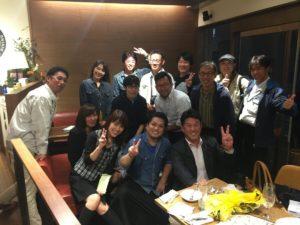 ボーリング大会後の食事会@茨木市